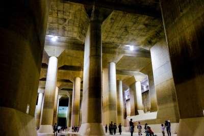 日帰りツアー|巨大地下神殿!首都圏外郭放水路と古代蓮の里 7月11日(日) 添乗員同行